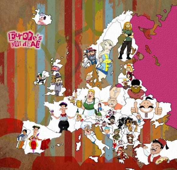 Europa w oparach stereotypów czyli krzywe zwierciadło dla wszystkich. http://europeisnotdead.com
